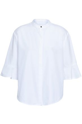 MAJE Cotton-poplin top