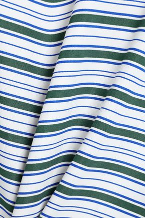 MAJE Striped twill shirt