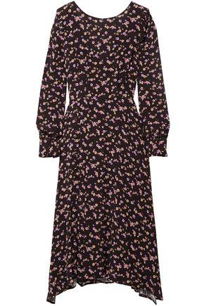 ad82dab499da PAUL   JOE Hyrma floral-print crepe midi dress