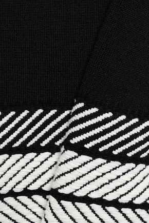 MAJE Stretch-knit top