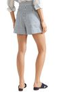 VANESSA BRUNO Striped cotton shorts