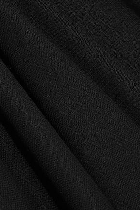 ROSETTA GETTY Open-back stretch-jersey top