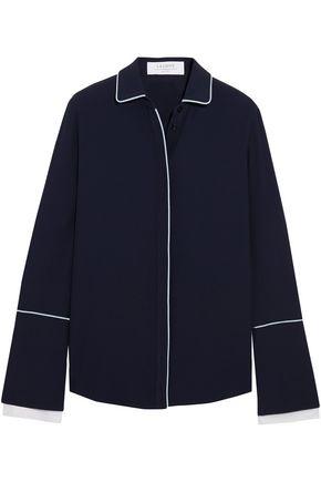 LA LIGNE The Francoise crepe shirt