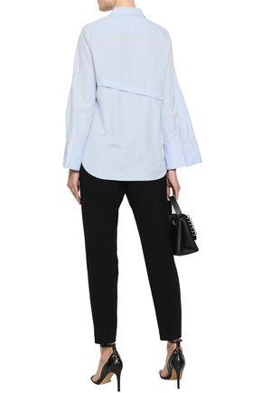 3.1 PHILLIP LIM Button-detailed cotton-poplin shirt