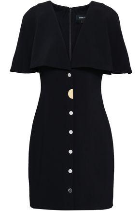 CUSHNIE Stretch-crepe mini dress