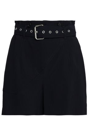3.1 PHILLIP LIM Pinstriped twill shorts
