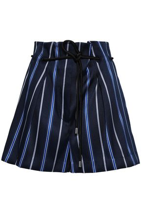 3.1 PHILLIP LIM Striped jacquard shorts
