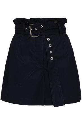3.1 PHILLIP LIM Belted cotton shorts