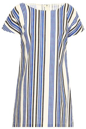 DOLCE & GABBANA Striped cotton mini dress