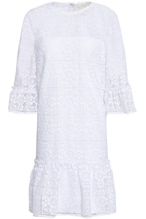 KATE SPADE New York Macramé mini dress