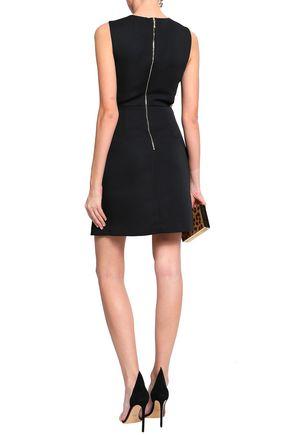 KATE SPADE New York Cutout crepe mini dress