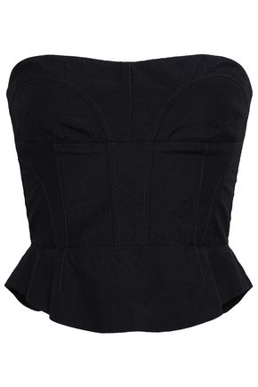 NARCISO RODRIGUEZ Strapless wool bustier