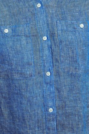 JOIE Linen-chambray shirt
