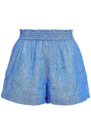 JOIE Linen-chambray shorts