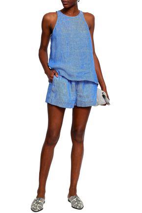 JOIE Linen-chambray shorts