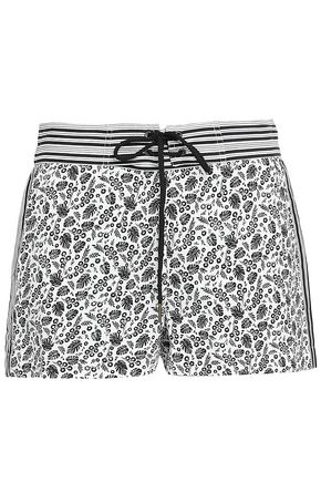 JOIE Printed cotton shorts