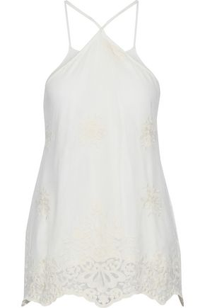TART COLLECTIONS Embroidered tulle top