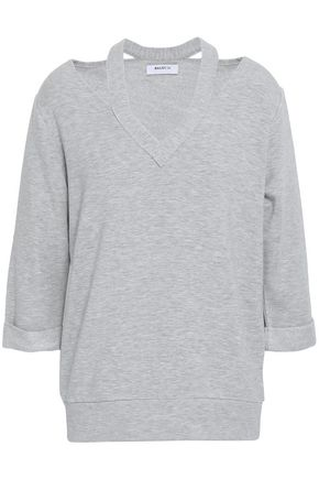 BAILEY 44 Cutout mélange modal-blend fleece top