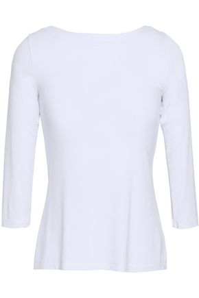 BAILEY 44 Lace-up jersey top