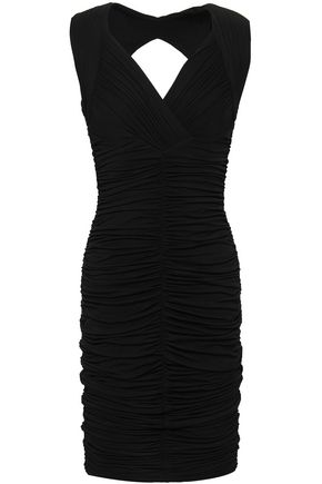 BAILEY 44 Cutout ruched jersey dress