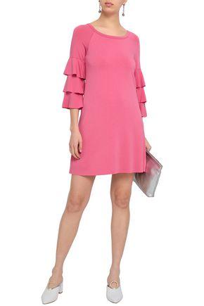 Tiered Bailey Jersey vestido Mini 44 Pg5qTw5Y