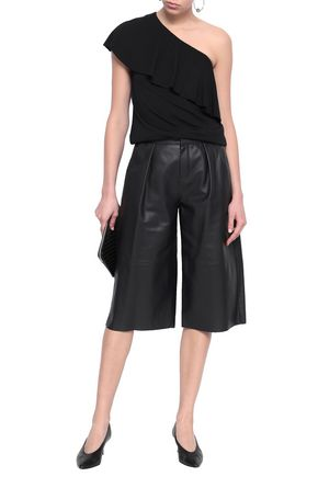 BAILEY 44 One-shoulder stretch-modal top