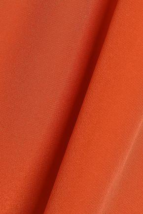 BAILEY 44 Off-the-shoulder silk crepe de chine top