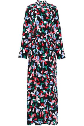 EQUIPMENT Printed silk crepe de chine maxi dress