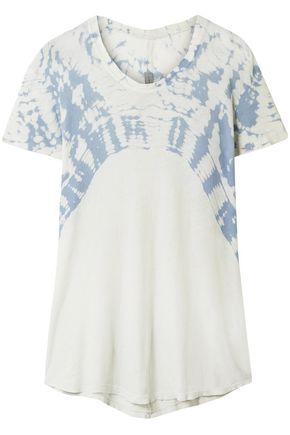 RAQUEL ALLEGRA Tie-dye cotton-jersey T-shirt