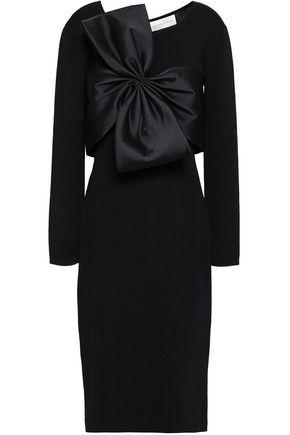 SACHIN & BABI Bow-embellished knitted dress