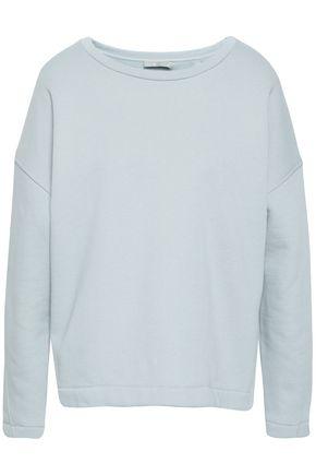 VINCE. Cotton-blend fleece sweatshirt