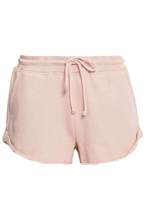JOIE French Pima cotton-terry shorts