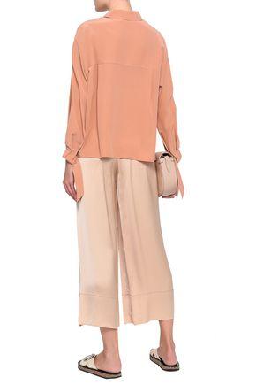 VINCE. Silk crepe de chine shirt