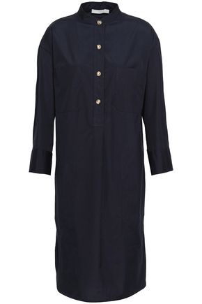 VINCE. Cotton-poplin shirt dress