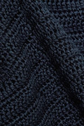 ELEVEN SIX Sade crocheted Pima cotton tunic