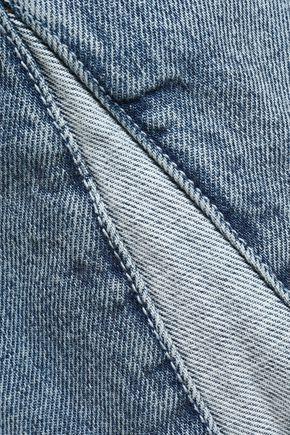 CURRENT/ELLIOTT Distressed denim shorts