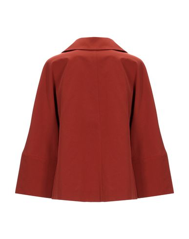Фото 2 - Женский пиджак  коричневого цвета