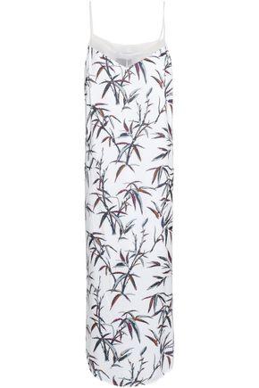 RACHEL ZOE Sequined printed jersey midi dress