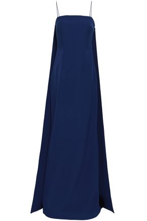 SAFIYAA Layered crepe gown