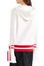 MAGGIE MARILYN Light The Way fluted cotton-fleece hoodie