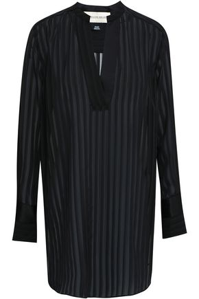 BY MALENE BIRGER Burnout chiffon blouse