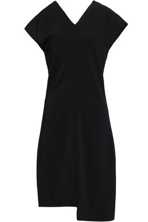HELMUT LANG Asymmetric crepe mini dress