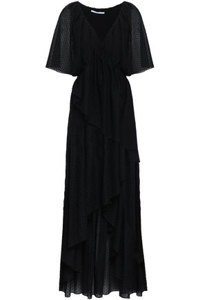 ROSETTA GETTY Ruffled cotton maxi dress