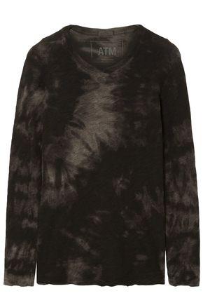 ATM ANTHONY THOMAS MELILLO Tie-dye cotton-jersey top
