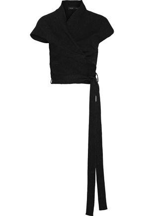PROENZA SCHOULER Asymmetric stretch-knit wrap top
