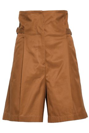 JIL SANDER Cotton-twill shorts