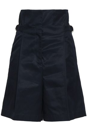 JIL SANDER Cotton-twill shorts