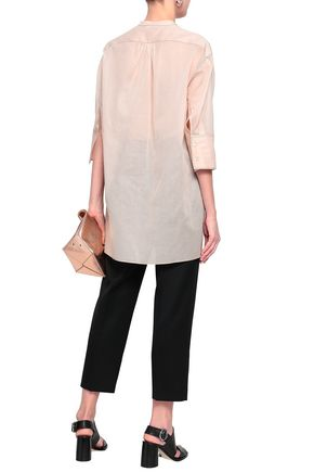 JIL SANDER Cotton-organza shirt
