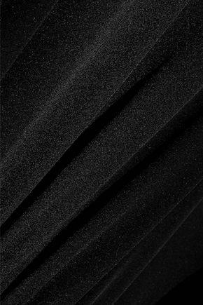 BY MALENE BIRGER Roselot gathered silk-blend satin tunic