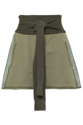 3.1 PHILLIP LIM French cotton-terry shorts